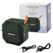 bluetooth-колонка hopestar-t7, waterproof, strongpower, c функцией speakerphone, радио, green, оптом, купить